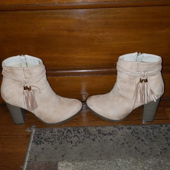 Athena Shoes - Charlie Tassle Boot by Athena.